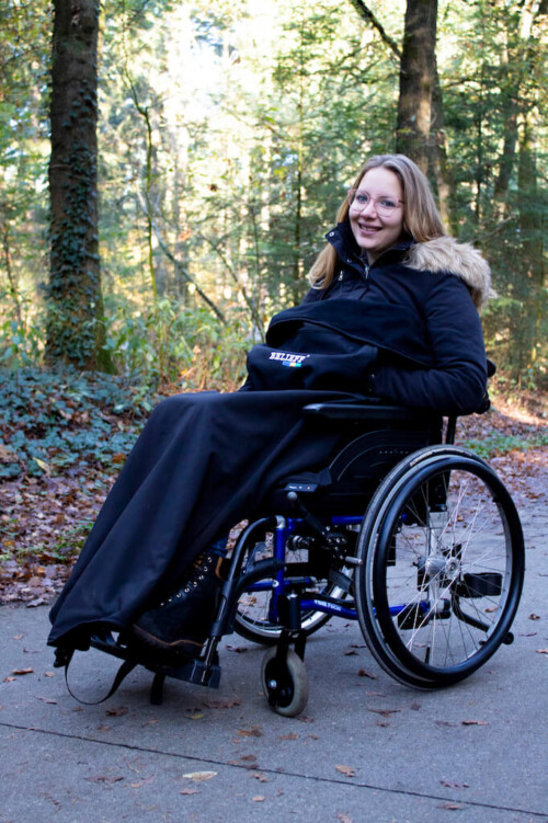Wheelchair blanket - Belieff 1