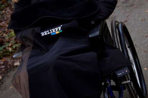 Wheelchair blanket with heating- Belieff 0