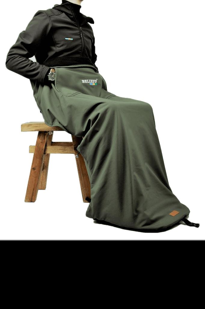 Belieff - Open deken - Groen 1-2