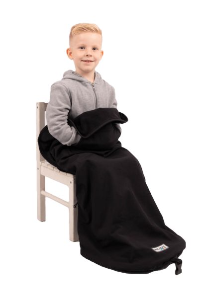 Kids blanket with footmuff