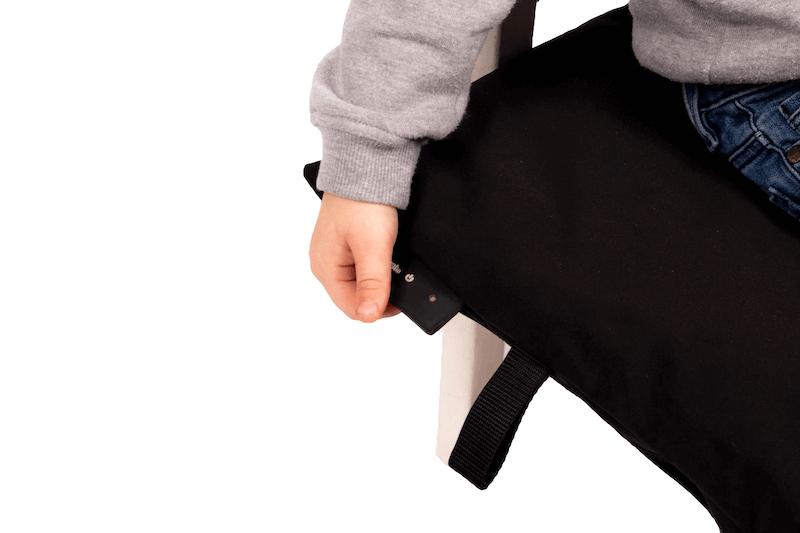 Kids deken met voetenzak en heating