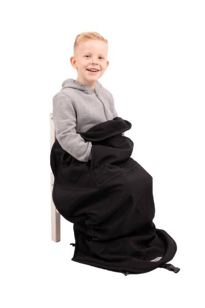 Kids open blanket