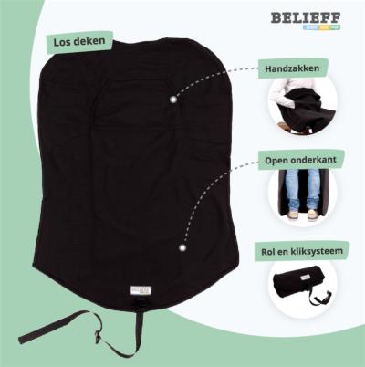Belieff - scootmobiel deken - Uitleg - 2