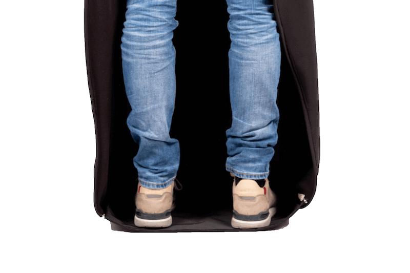 Scootmobiel deken met pvc onderlaag 1