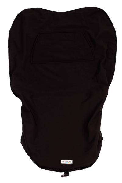 Scootmobiel deken met voetenzak 2