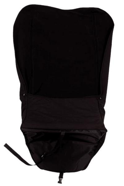 Scootmobiel deken met voetenzak 3