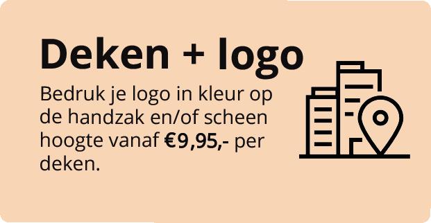 Belieff - Deken met logo bedrukken 7