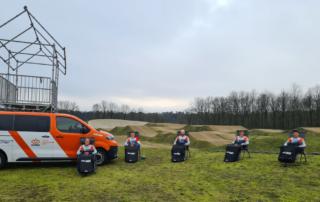 Belieff sponsort haar eerste nationale elftal, de rijders van BMX Team 1